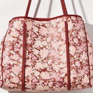 NEW! Anthropologie Floral Tote